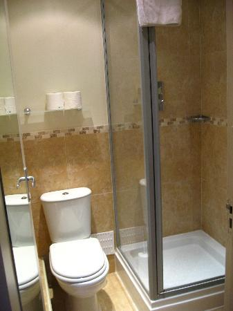 Interior Tiny Shower tiny shower toilet room picture of lime tree hotel london room