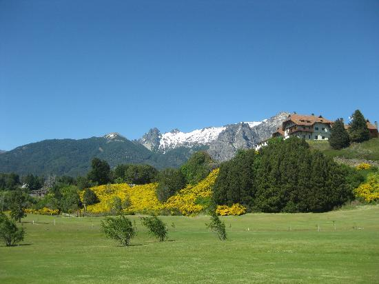 Llao Llao Hotel and Resort Golf Spa: from golf course