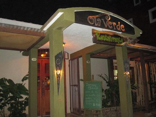 Ola Verde: The Entrance To A Lovely Establishment