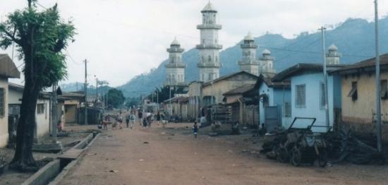 Korhogo, Cote d'Ivoire: Côte d'Ivoire, été 2000