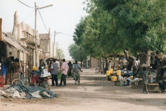 Djenne, มาลี: Djenné, Mali, hiver 2002