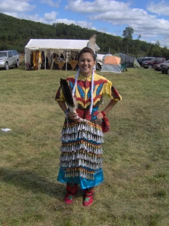Wemotaci, Kanada: Sabrina, élève de sec 5.