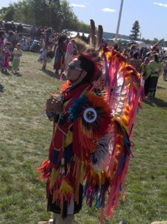 Wemotaci, Kanada: Rico, frère de Nikan et fils de Pascale (prof d'adapt.)