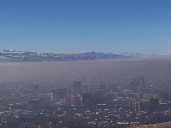 The Himalaya Amp The Smog Over Almaty Kazakhstan Picture