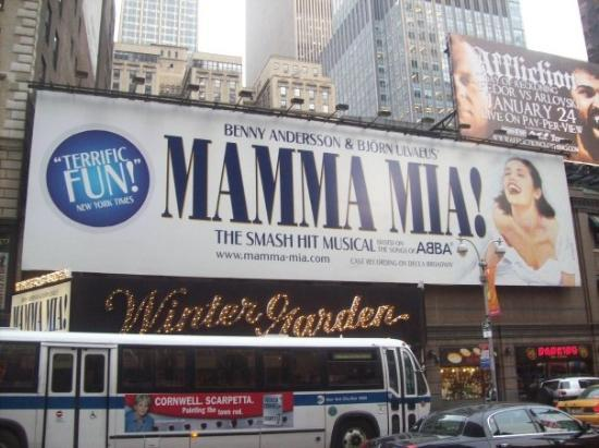 Mamma Mia! on Broadway: Winter Garden Mamma Mia
