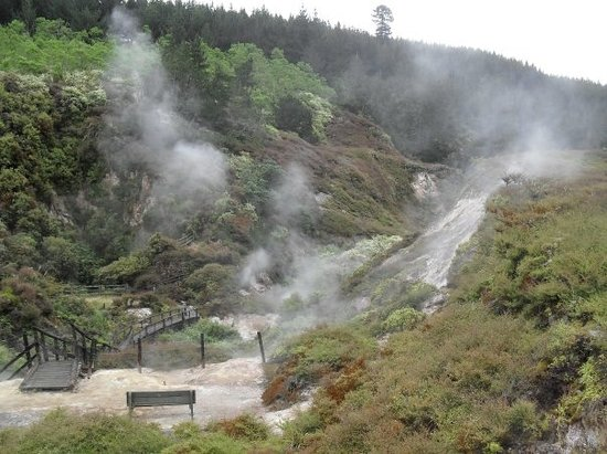 Wairakei Natural Thermal Valley