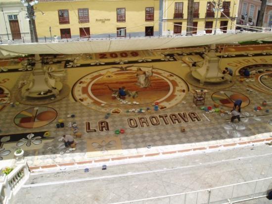La Orotava en junio de 2009.