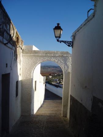 Arcos de la Frontera, Spanje: Calle de Arcos.