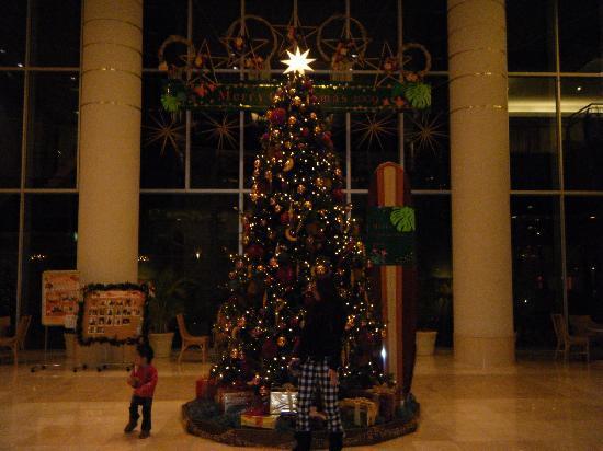Hotel Emion Tokyo Bay: ロビーのCristmasTree