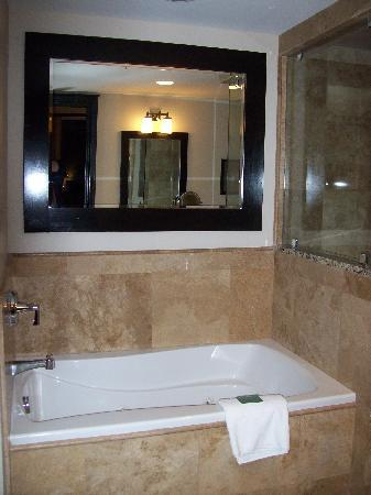 Waldorf Astoria Park City : Spa tub in main bathroom