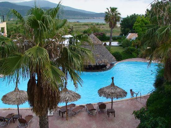 Thásos, Grecia: Das Hotelinnere