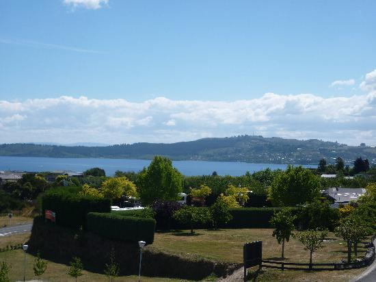 Hilton Lake Taupo: View from our Balcony