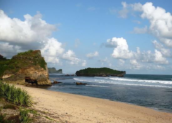 Yogyakarta, Indonesien: Gunung Kidul, Krakal Beach