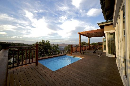 Magaliesburg, South Africa: Mount Grace Villa Heated Pool