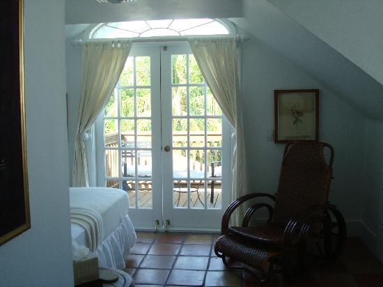 Key West Bed and Breakfast: Unser Schlafzimmer (3rd floor)