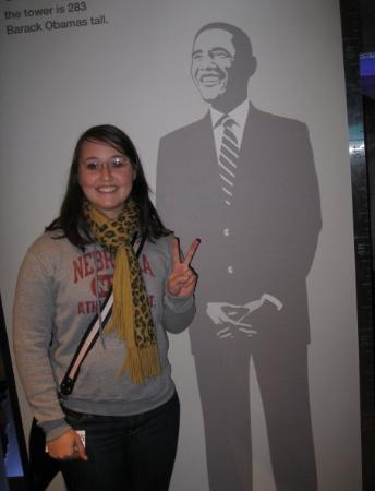 Clay Center, NE: Met my Obama