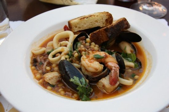 Enoteca San Marco - Cacciucco  (Seafood Stew)