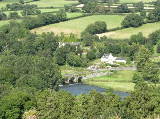 Looking down on Inistioge