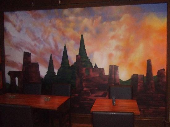 Koh Thai Tapas Boscombe: wall