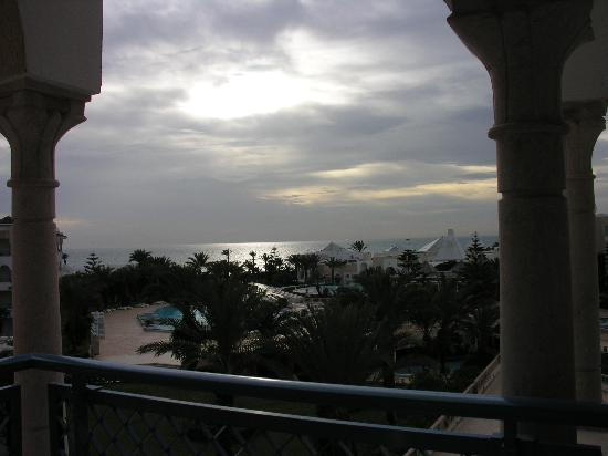 Hasdrubal Thalassa & Spa: dal balcone della camera