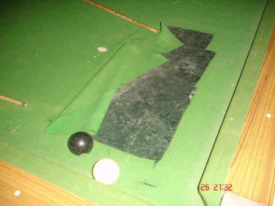 Hidden Valley Club and Resort: this is snooker table