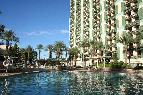 The Orleans Hotel & Casino: the Orleans pool