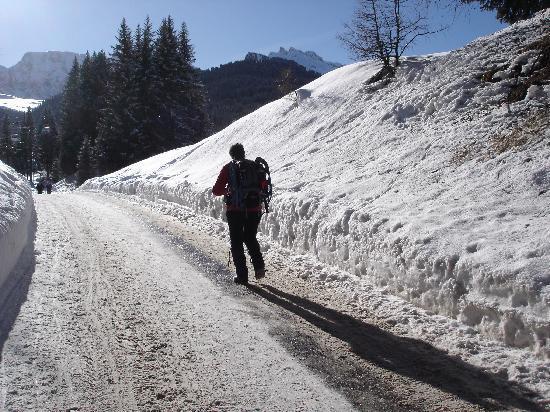 Fie allo Sciliar, Itália: Ciaspolando Sull'Alpe