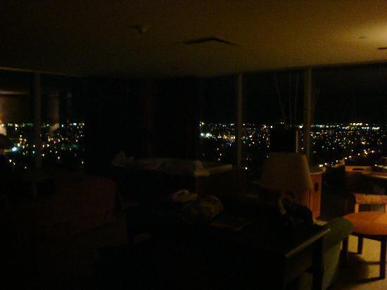 Seneca Niagara Resort & Casino: View from our room at night!