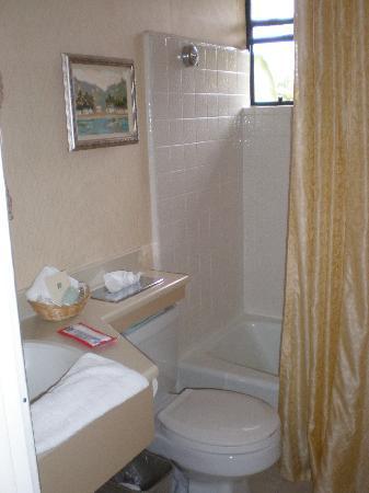 Franciscan Inn & Suites: Bathroom