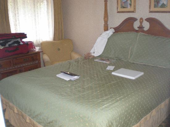 Franciscan Inn & Suites: Bed
