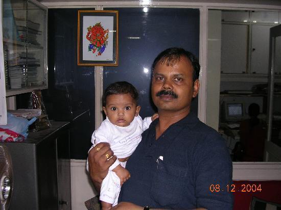 Ginger Vadodara: me and my daughter