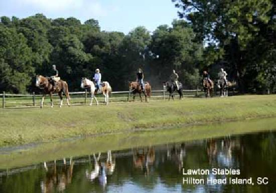Trail Riding at Lawton Stables