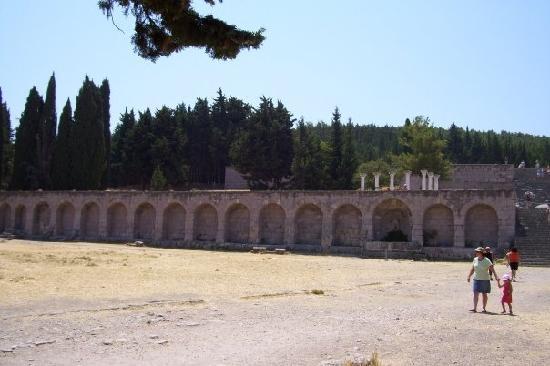 Kos, Hellas: grounds