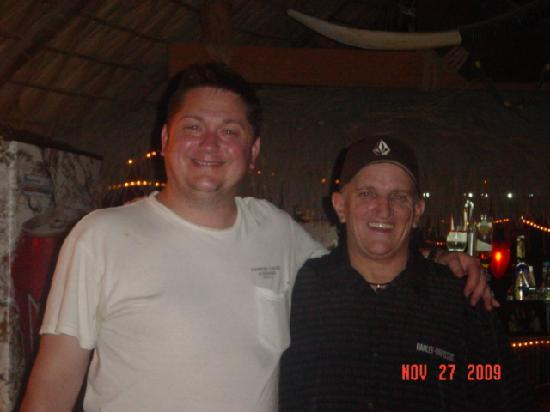 La Ricazon: Marty with our friend Mitch