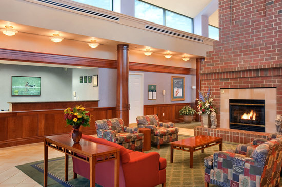 Beautiful Cheap Hotels In Falls Church Va #2: Hotel-lobby-and-reception.jpg