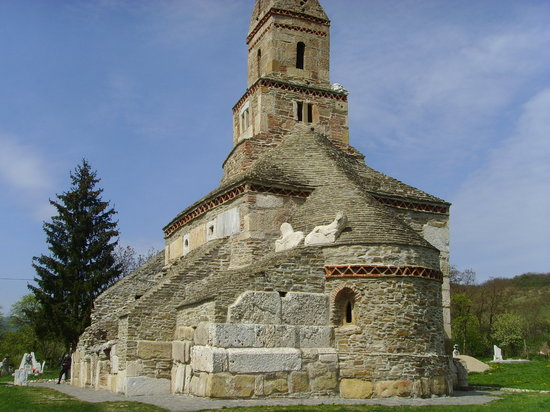 Transylvania, Rumania: densus church