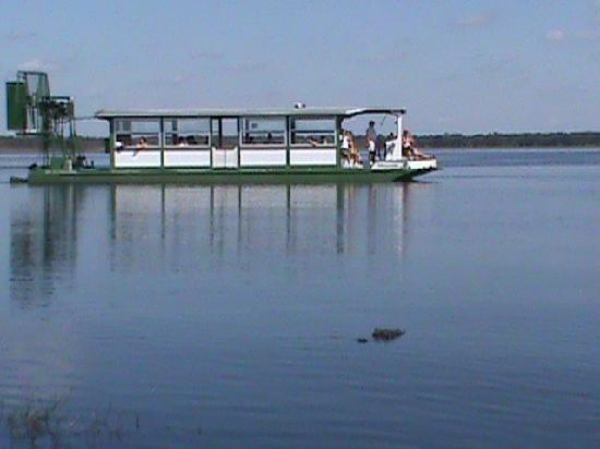 Myakka River State Park: The big airboat