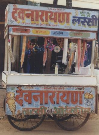 Benaulim, India: Ice cream ?