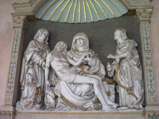Mainz Cathedral (Dom): sculpture in Dom