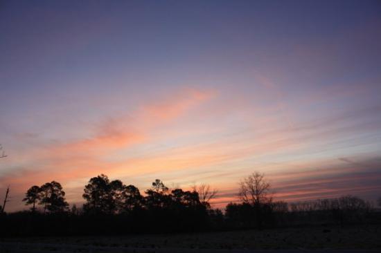 Frosty sunrise in Alma #3