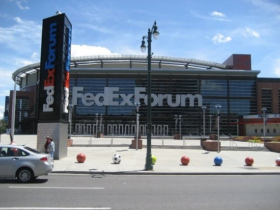 Nice Venue Horrible Location No Parking Review Of Fedexforum