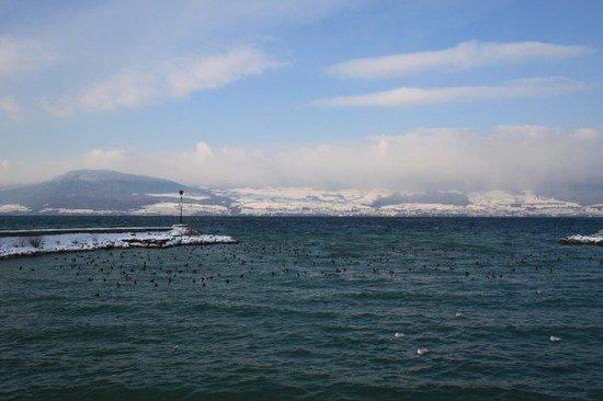 Estavayer-le-Lac, Swiss: le lac de Neuchâtel