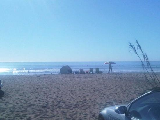 San Onofre - OC Thanksgiving Day - 80 degrees