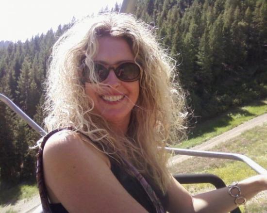 Bald Mountain : On the ski lift