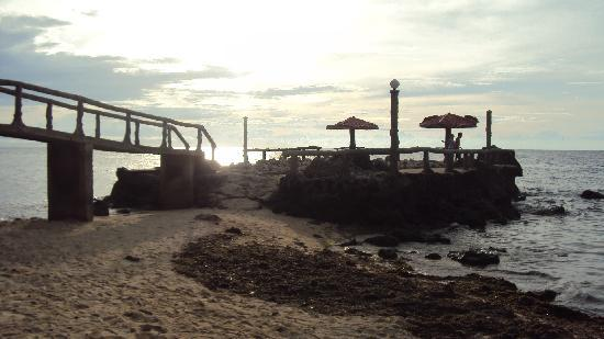 Initao, Philippinen: sunset