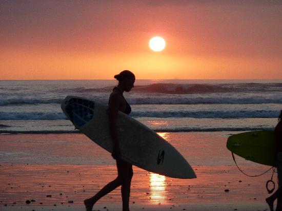 Nosara, Costa Rica: Sunset at Playa Guiones