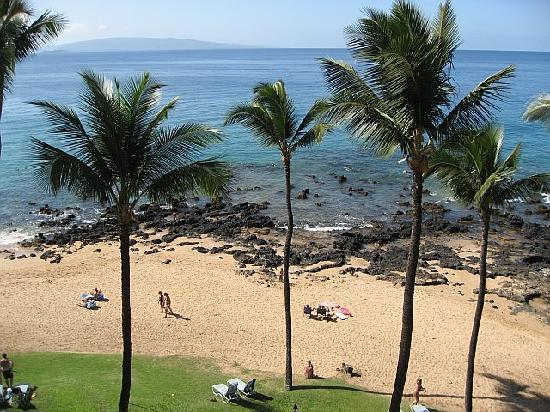 Mana Kai Maui: Great snorkeling just beyond the rocks