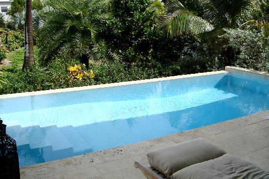 Meads Bay Beach Villas: Villa pool