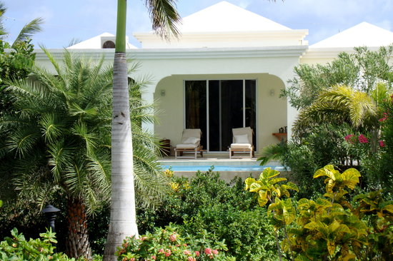 Meads Bay Beach Villas: our villa