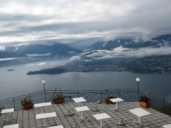 Funivien del Lago Maggiore: The veranda and the lake